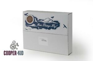 """Perfect Father's Day Gift! """"How Things Fly"""" Cooper Kit for Dads and Kids."""