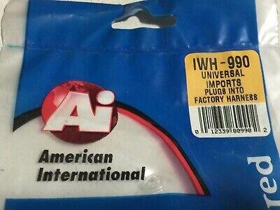 100/% OEM AMERICAN INTERNATIONA WIRING HARNESS PLUG FOR AFTERMARKET RADIO IWH974