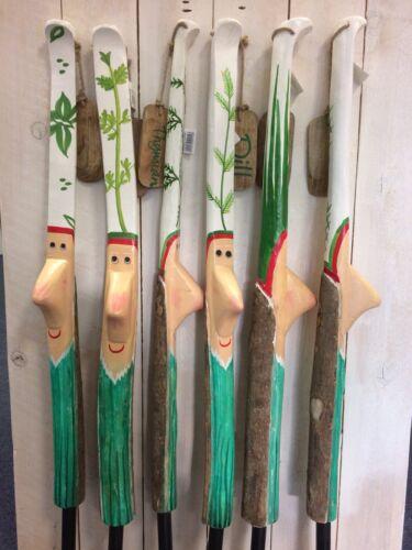 Gartenstecker*Beet Stecker*Beet*Garten*Kräuterstecker*100cm*Holz*Gilde