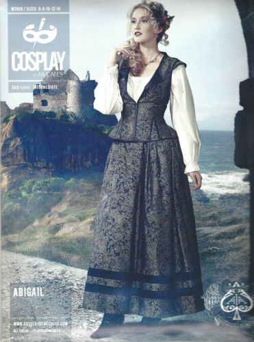 Motifs de coupe McCall/'s cosplay Brand collection M 2089 Abigail