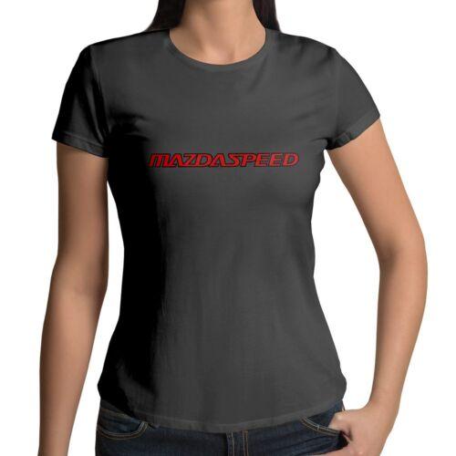 Mazda Mazdaspeed Racing MPS Rx7 Rotary Wankel Women Juniors Teen Top Tee T-Shirt