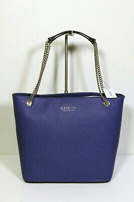 Nuevo Guess los Angeles Hermoso Bolso de Mano City Comprador Robyn Cobalto Azul | eBay