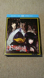 BASILISK-COMPLETE-SERIES-BLU-RAY-DVD-COMBO-PACK-FUNIMATION-NEW-SEALED