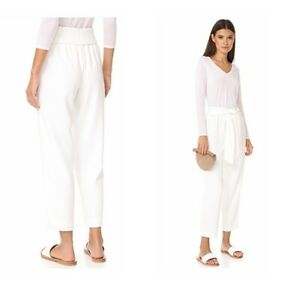 Club-Monaco-Dacey-trousers-cashew-milk-cream-color-size-0-179-50-price-tag-NWT
