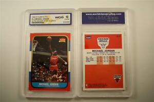 MICHAEL-JORDAN-1996-97-Fleer-ULTRA-DECADE-U4-Rookie-Card-GRADED-GEM-MINT-10