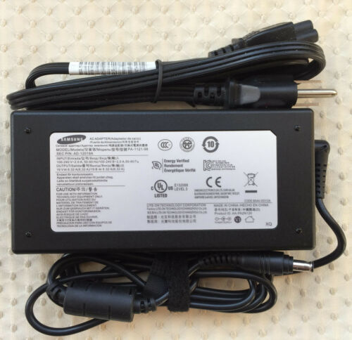 Original OEM Samsung 120W AC Adapter for Samsung Notebook Odyssey NP800G5M-XG2BR