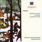 Ansermet Ernest Franck Symphony in D Minor Les Eolides Le CH 2009 CD