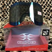 Empire E-vents E-flex Helix Avatar Paintball Lens - Thermal - Mirror Blue