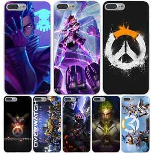 newest f7506 02535 Details about Overwatch Heroes D.va Genji McCree Zenyatta case iPhone X XR  XS 5s 6 6s 7 8 Plus