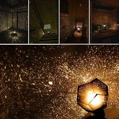 Romantic Astro Planetarium Star Celestial Projector Cosmos Light Night Sky Lamp#