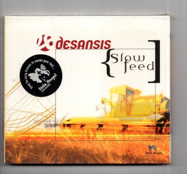 (JD819) Desansis, Slow Feed - 2004 Sealed CD