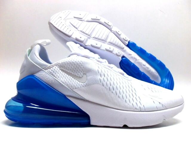 988062ee91f Nike Air Max 270 White white-photo Blue Size Men s 13 Ah8050-105 for ...
