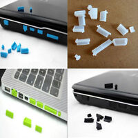 26X Protective Port Cover Silicone Anti-Dust Plug Stopper for Laptop Notebook Le