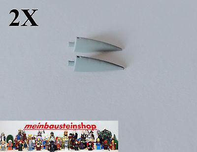 2x Lego® 11089 Kralle Horn Barb Claw 1x4x1 Groß Neues Hellgrau Neu