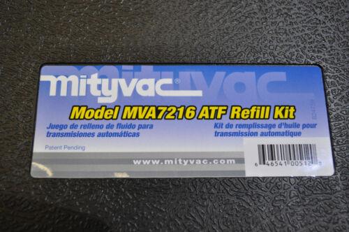 TRANSMISSION REFILL ADAPTER MASTER CONVERSION KIT MIT-MVA7216