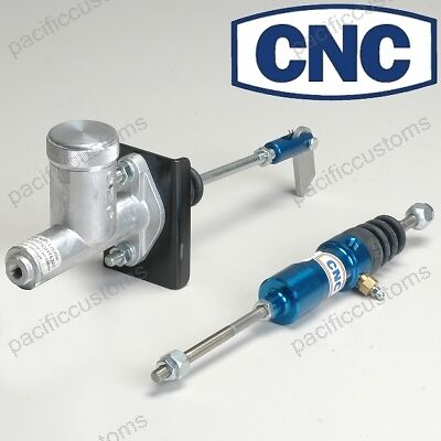 CNC Clutch Adapter Kit VW Clutch Cable To Hydraulic Slave 5/8 Bore T1 Beetle T3