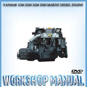 yanmar 1gm 2gm 3gm 3hm marine diesel engine workshop service manual rh ebay com au yanmar marine diesel repair manual yanmar 8 hp marine diesel manual