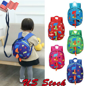 5854642c64db Image is loading US-Toddler-Backpack-Anti-lost-Band-Kids-Children-