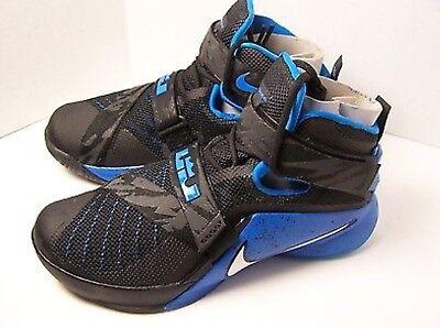 Nike Lebron Soldier 9 IX PRM Black Blue