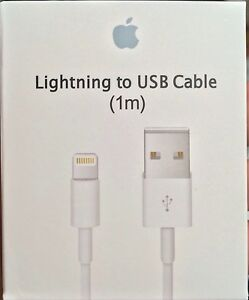 Genuine Original OEM Apple iPhone 7 6S plus 5 SE Lightning USB Cable Charger 1M