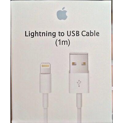 Genuine Original OEM Apple iPhone X 8 7 6S plus 5 Lightning USB Cable Charger 1M