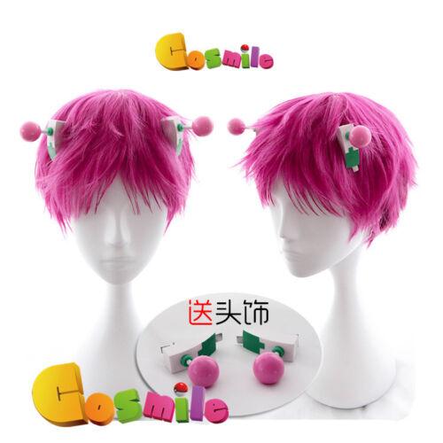 Saiki Kusuo no Ψ Nan Saiki Kusuo Kaitou Syun Cosplay Hair Wig Headwear Sa