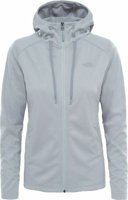 The North Face Tnf Tech Mezzaluna T93brodyx Fleece Hoodie Jacket Hooded Womens Reine WeißE