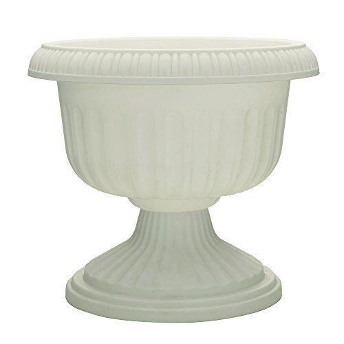 18-Inch Length White Dynamic Design UR1810WH Grecian Urn