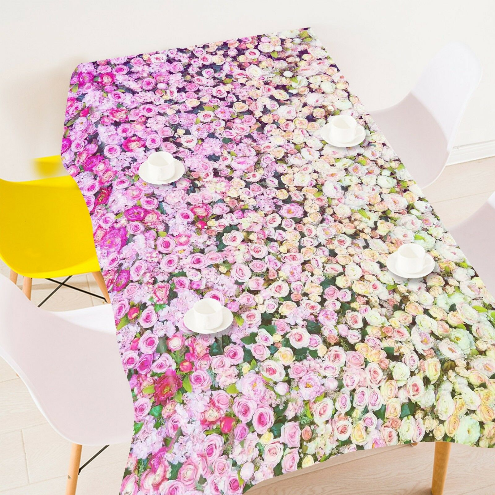 3D rose Garden 055 Tablecloth Table Cover Cloth Birthday Party Event AJ Lemon