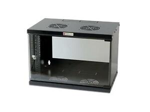 Networking-Wall-Cabinet-19in-6u-Black