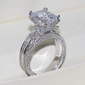 Image Is Loading Eiffel Towe Women Jewelry 8ct Diamonique Cz White