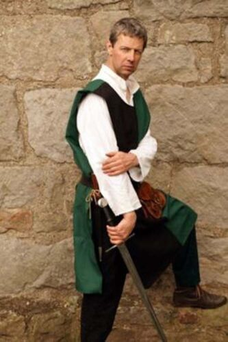 Medieval-SCA-LARP-Battle Ready-2 COLOUR KNIGHTS SURCOAT All Sizes