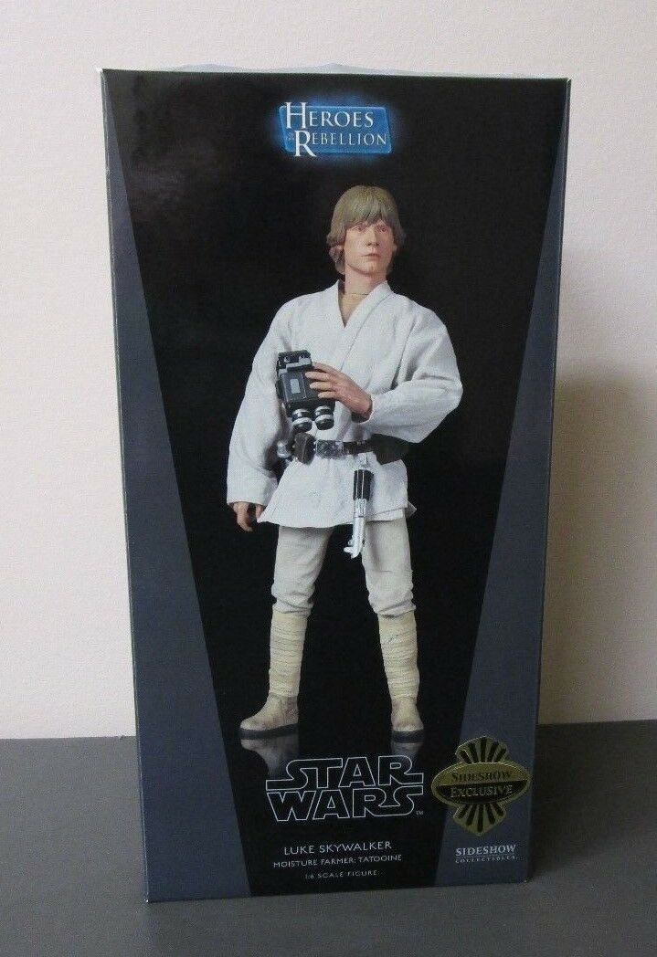Luke Skywalker Moisture Farmer STAR WARS Sideshow Collectibles 12  1 6 Scale