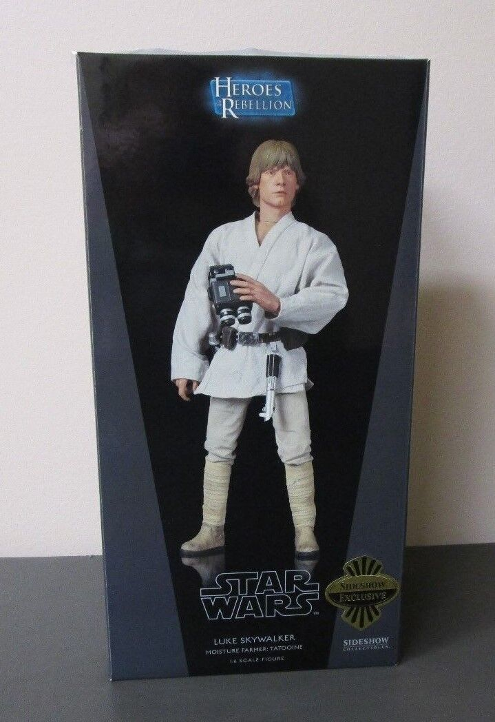Luke Skywalker Moisture Farmer STAR WARS Sideshow Collectibles 12