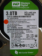 3 TB Western Digital WD 30 EZRX - 00az6b0/hbrchv 2aab/Nov 2012 discoteca duro