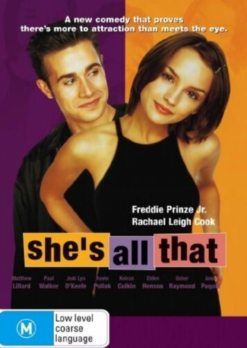 1 of 1 - She's All That (DVD 2006) Region 4 Comedy DVD Rated M Used in Like NEW Condition