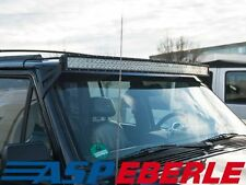 LED Bar Halter schwarz Lightbar Bracket Jeep Cherokee XJ 84-01