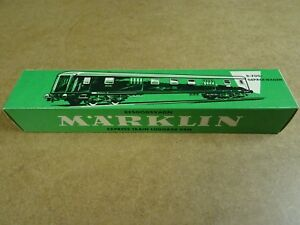 MARKLIN-MARKLIN-HO-4026-BOXED-EXPRESS-TRAIN-LUGGAGE-VAN