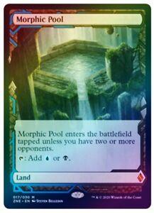 English x1 Morphic Pool Foil MTG Zendikar Rising Expeditions M M//NM