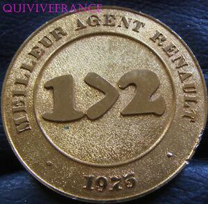 MED4304-MEDAILLE-MEILLEUR-AGENT-RENAULT-1975