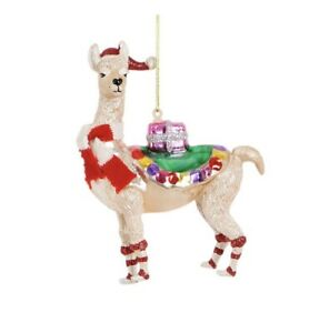 Llama Christmas Decorations.Details About Gifting Llama Christmas Tree Decoration Funny Festive Home Decor Sass Belle