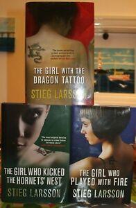 STIEG-LARSSON-Millennium-Trilogy-3-Hardback-Book-Collection-1st-Editions