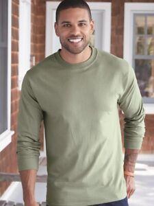 Hanes-Beefy-T-Long-Sleeve-T-Shirt-5186
