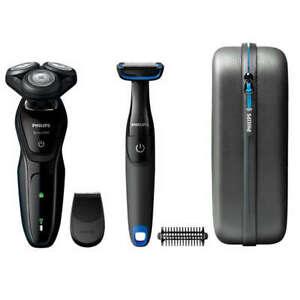 PHILIPS-AquaTouch-S5082-64-Nass-Trockenrasierer-Elektrorasierer-Bodygroom