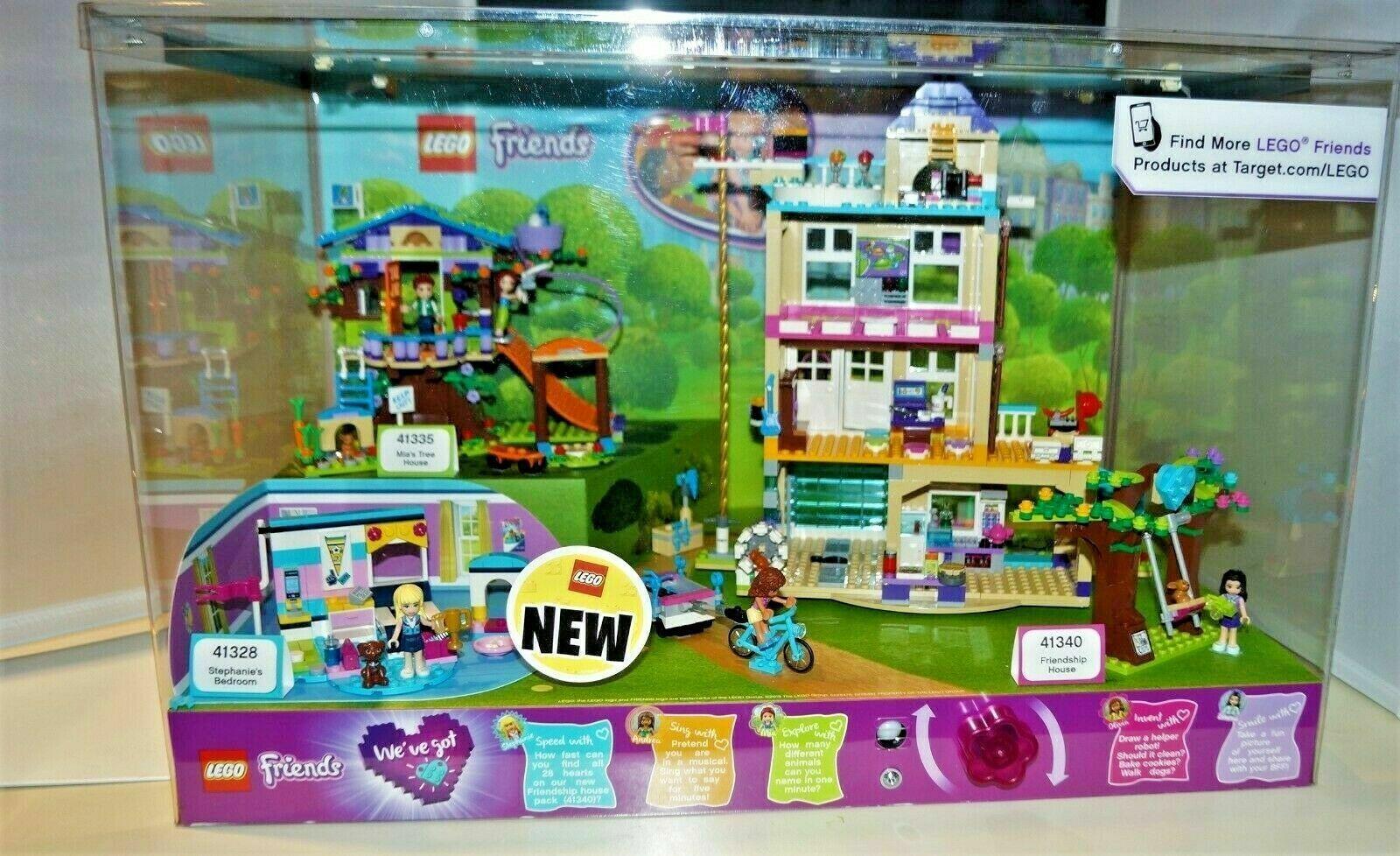Amigos Lego legos 41340 41328 41335 luces LED de visualización de tienda de destino hasta