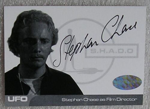 UFO Trading Cards Rare Proof Autograph Card SC1 Stephan Chase as Film Director