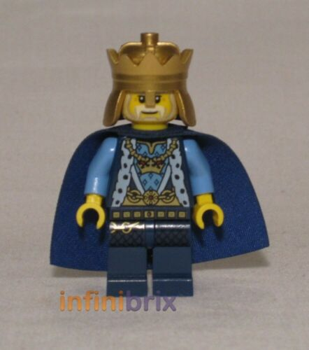 Lego King Minifigure from set 70404 Castle Kingdoms NEW cas527