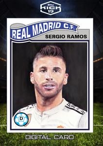 2019 UCL vivant Sergio Ramos TOPPS Kick Digital Card