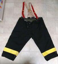 Morning Pride Firefighter Turnout Gear Pants Nomex Aramid Iii Vintage
