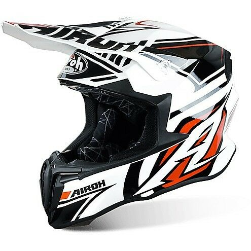 Casco Cross | Enduro Airoh Twist Avenger White Gloss L